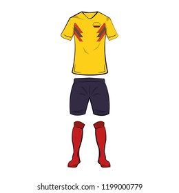Colombia soccer tshirt