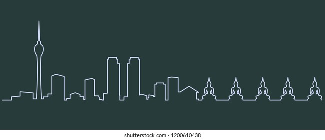 Colombo Single Line Skyline