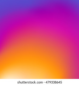 Color background instagram with gradients for the cover design. vector illustration
