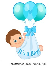 cartoon baby boy images stock photos vectors shutterstock rh shutterstock com black baby boy cartoon images baby boy animated images