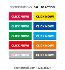 Color Collection of Call To Action Buttons