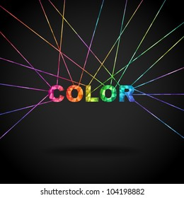 Color, colorful mosaic vector eps8 banner