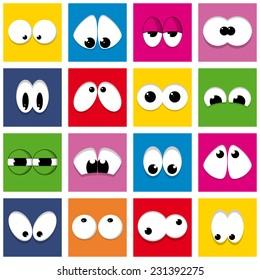color eyes (vector)