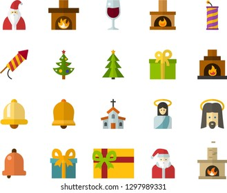 Jesus present in the holy communion Royalty Free Vector