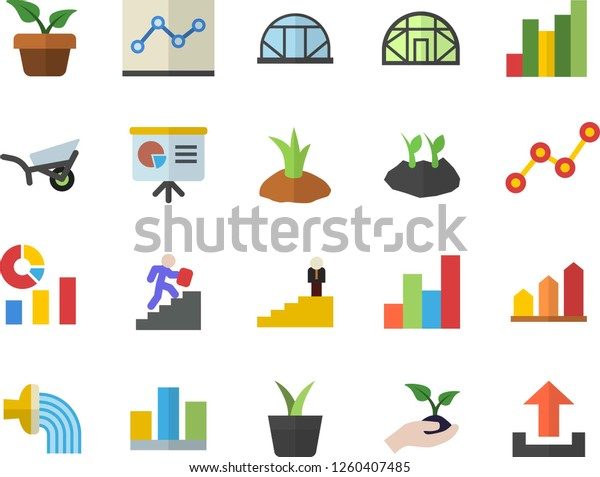 Color Flat Icon Set Home Plant Stock Vector (Royalty Free ... on weed chart, house paint chart, house color chart, vegetables chart, fish chart, house cat chart, poisonous plants chart, house garden chart, fern chart, house building chart, flower chart, bird chart, house animals chart, apple chart, herb chart,