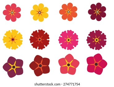 Color Flowers Package