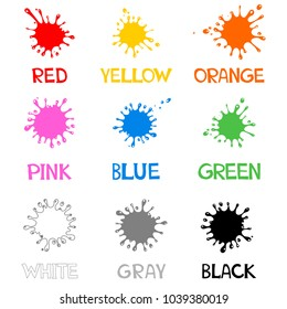 Learn Colors Images, Stock Photos & Vectors | Shutterstock