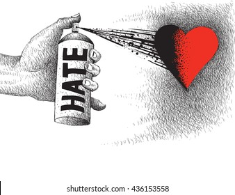Color of hate