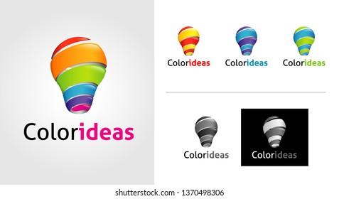Color Ideas Logo Template