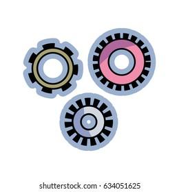 color industry gears engineering process