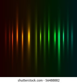 Color light strokes vector background.