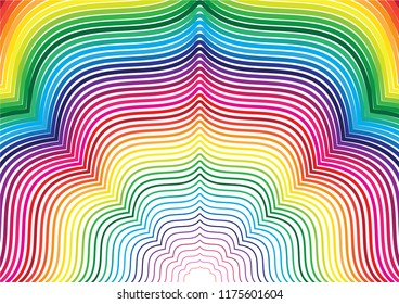 Color line abstract background