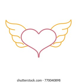 heart with wings images stock photos vectors shutterstock rh shutterstock com images of hearts with angel wings pictures of broken hearts with wings