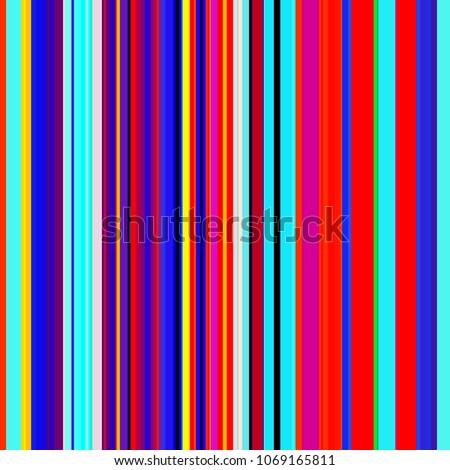 Color Lines Background Colorful Stripes Designed Stock