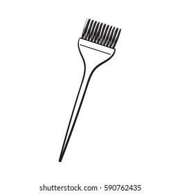 Hair Dye Brush Images Stock Photos Vectors Shutterstock