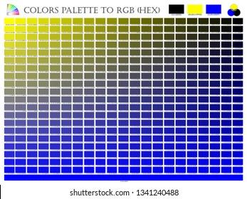 Hex Color Images, Stock Photos & Vectors | Shutterstock