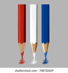 Color pencil beautiful.