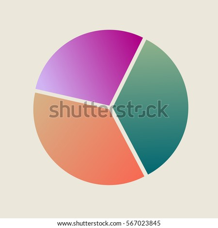 Color Pie Chart Stock Vector Royalty Free 567023845 Shutterstock