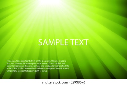 Color ray banner. Place for your text.
