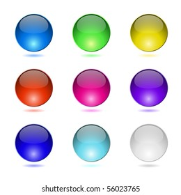 Color round buttons.