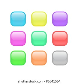 Color rounded icons
