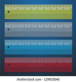 color rulers