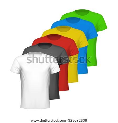 601a168d07 Color Shirts Vector de stock (libre de regalías)323092838  Shutterstock