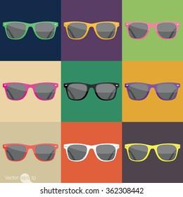 Color of Sunglasses
