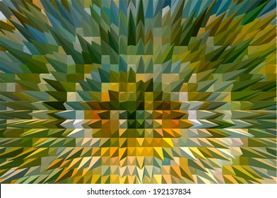 Color texture triangle background, abstract vector illustration