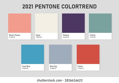 Color trends for design work in 2021