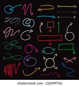 color vector arrows