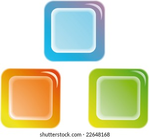 Color web buttons. For any use.