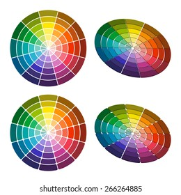 Rgb Color Wheel 12 Color Red Stock Illustration 622060370 Shutterstock