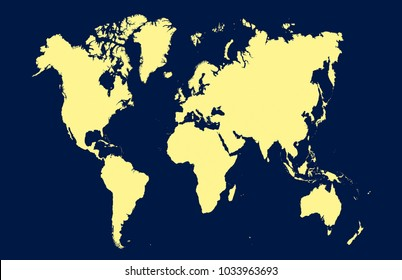 North south east west white images stock photos vectors color world map vector publicscrutiny Image collections