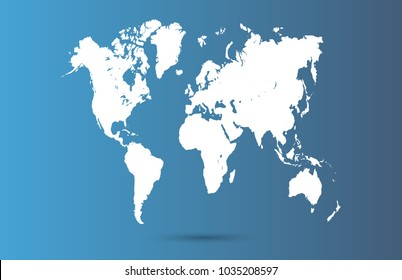 World map background images stock photos vectors shutterstock color world map vector gumiabroncs Choice Image