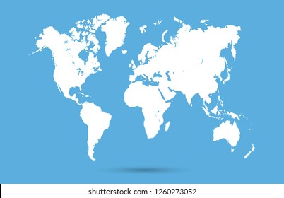 Global Map Images, Stock Photos & Vectors | Shutterstock