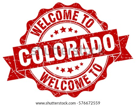 Colorado Welcome To Stamp