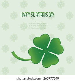 a colored background with text and a traditional element for patrick's day