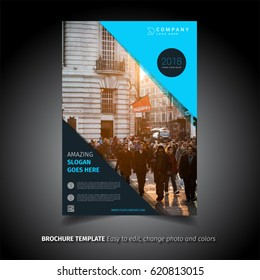 Colored Brochure Template