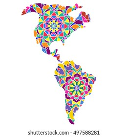 Latin America Community Stock Vectors, Images & Vector Art ... on ethnic groups of central america, ethnic population of europe, aboriginals in south america, paraguay map south america, ethnic western asia map, ethnic populations in africa, ethnic origin us map by county,
