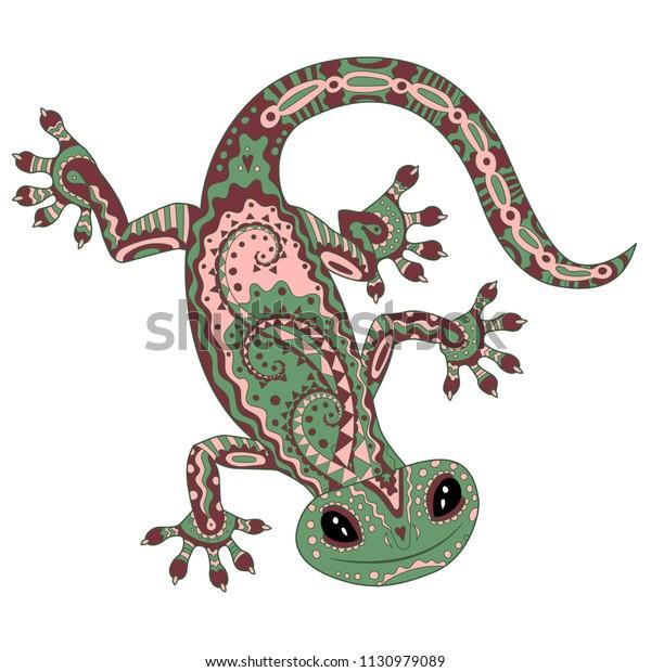 gecko bilder zum ausdrucken  ausmalbilder