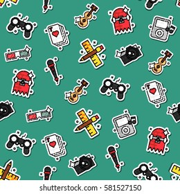 Colored hobby pattern
