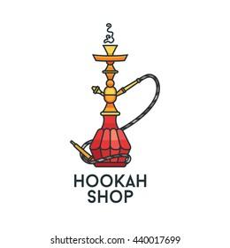 Hookah Logo Images Stock Photos Vectors Shutterstock