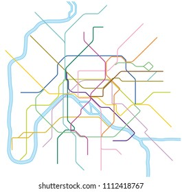 France Subway Map.Metro Map Paris Images Stock Photos Vectors Shutterstock