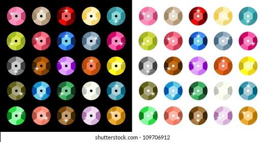 Colored Paillette