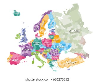 Slovakia Region Map Images Stock Photos Vectors Shutterstock