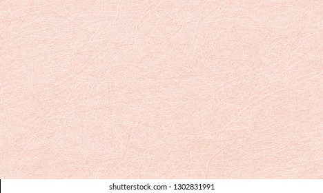 Colored skin texture, leather background. Pale pink leatherette, closeup. Vector abstract marble backdrop with scratched texture of plastered walls, imitation plaster, grunge. Old, worn surface.