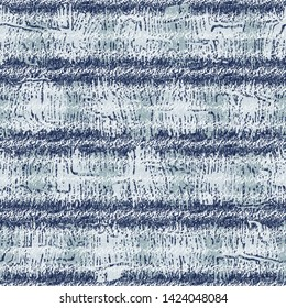 Colored Striped Melange Effect Textured Background. Seamless Pattern.