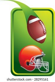 colored tab football