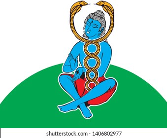 Colored vector of a Kundalini